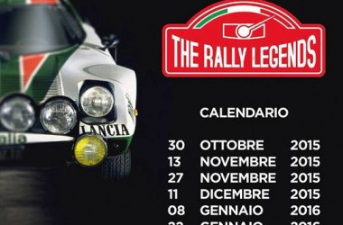 "Campionato serale invernale ""THE RALLY LEGENDS"" BACK2FUN"