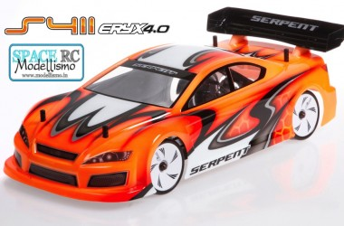 Serpent Eryx 4.0 touring car kit | SERPENT
