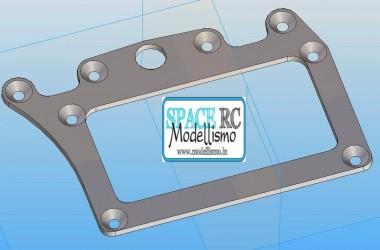 Aluminium motor pod for Serpent F110-SF2 from FENIX RACING | FENIX RACING