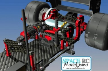 F1-01 alloy pivot & pod plate | CAPRICORN