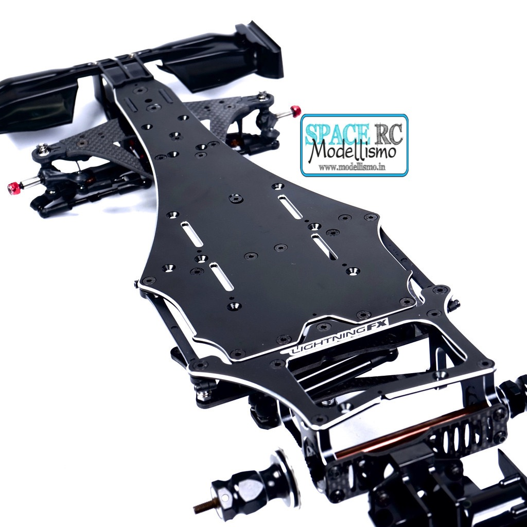 Lightning fx aluminium chassis plate vbc racing space for Chassis aluminium