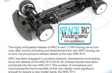 R11 electric touring car kit | ARC