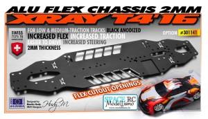 301141 T4 Alu Flex Chassis 2.0mm