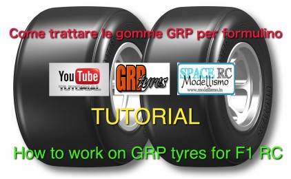 Come trattare le gomme GRP per formulino – How to work on GRP tyres for F1 RC
