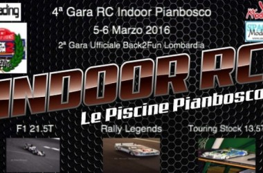 4ª Gara RC Indoor le Piscine Pianbosco