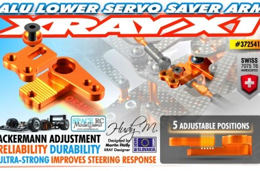 X1 lower servo saver arm | XRAY
