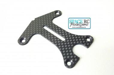 TRF102 carbon fibre T-plate | BEZERK RC