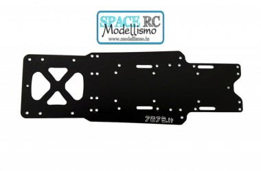 X10'16 aluminium main chassis & pod plate | 7075.it