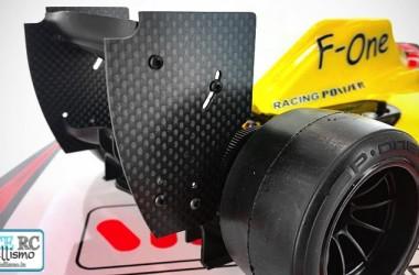 F-One carbon fibre rear wing    WRC Racing