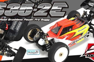 SWorkz S35-2E 1/8th electric off-road buggy kit